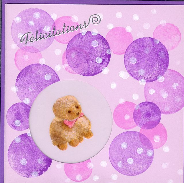 modele carte felicitation naissance bebe