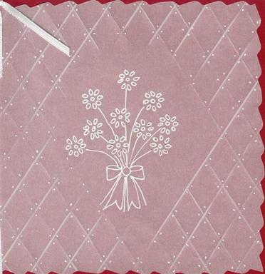Carte fleurs et calque