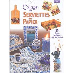 collage serviettes papier