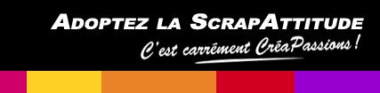Site spécialisé scrapbooking : creapassions