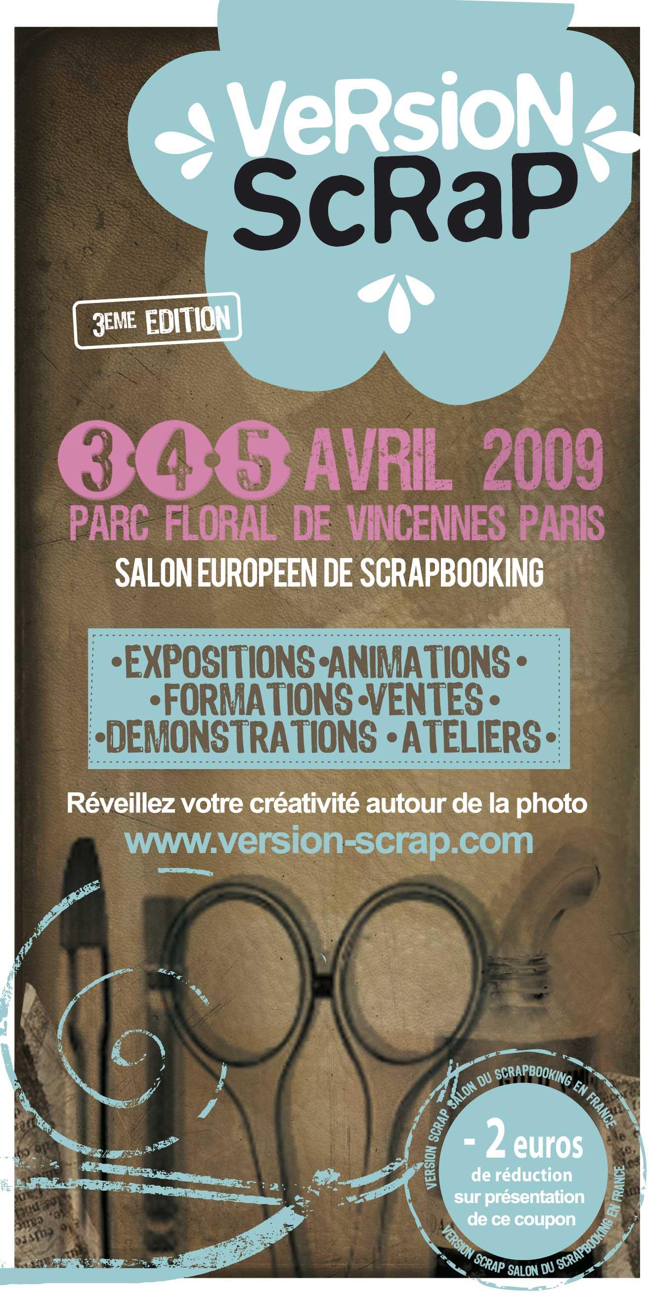 salon version scrap paris 3 au 5 avril 2009 vhd