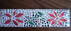 Post image for Fabriquer un cadre Mosaïque en verre et miroir