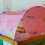 Thumbnail image for Tunnel pour lit enfant avec décor Princesse