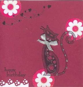 carte d'anniversaire pour mamie