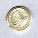 Thumbnail image for Embellissement pour modèles de cartes – cachet de cire Landau EM1101