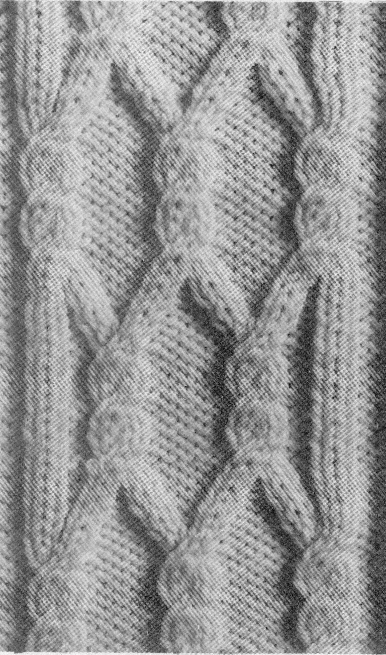 Modeles tricot torsades
