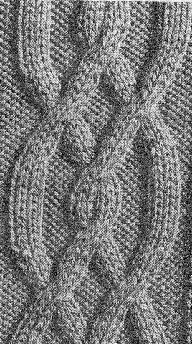 tricot torsades