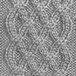 Thumbnail image for Modèle de torsade pour faire un pull