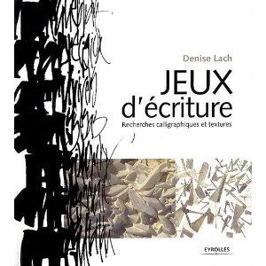 Jeux ecriture recherche calligraphique texture