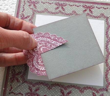 Tutoriel Pour Faire Une Carte Creative En Scrapbooking Vhd Creations