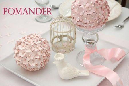 tutoriel fleur papier boule pomander