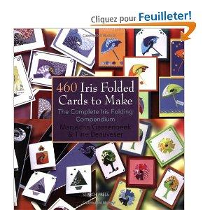 couverture du livre 460 cartes en iris folding à faire soi-même