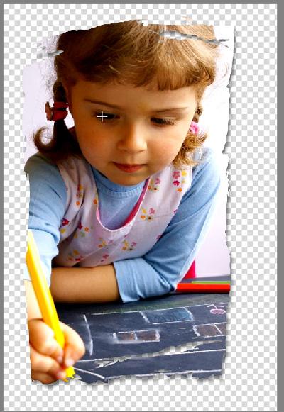 créer une découpe d'image dans photoshop elements 9