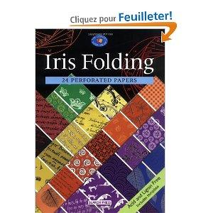 couverture du livre 24 papiers perforés pour l'Iris Folding