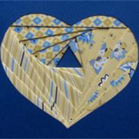 exemple de motif réalisé selon la technique de l'iris folding