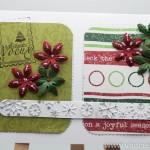 Thumbnail image for Modèle de carte de voeux avec embossage, papiers et fleurs – toussa encore !
