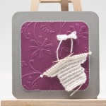 Thumbnail image for Modèle de Carte de naissance avec petit pull tricoté main